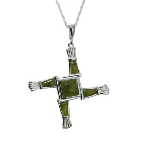 Saint Brigid's Cross Enhancer Necklace
