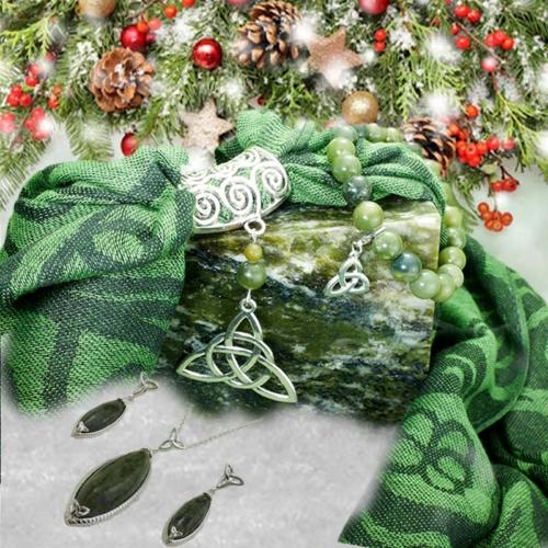 Celtic Knot Connemara Marble Christmas Bundle Offer