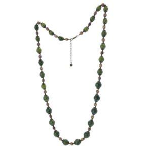 """Connemara Marble Vintage 32"""" Necklace"""